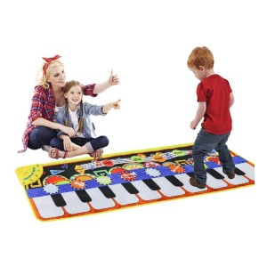 Cyiecw Piano Music Mat - Best Musical Toys for 4-Year-Olds: Limitless way to play