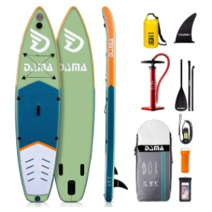 DAMA Inflatable Stand Up Paddle Board - Best Inflatable Paddle Board Under $400: Versatile Paddle Board