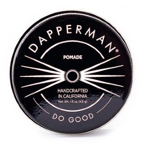 Dapperman NATURALLY DERIVED PLANT BASED POMADE - Best Pomade for Thick Hair: Great Hold Styling Aid for Most Hair Types
