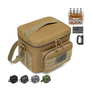 DBTAC Tactical Lunch Bag - Best Lunch Boxes Insulated: Practical in Use Design