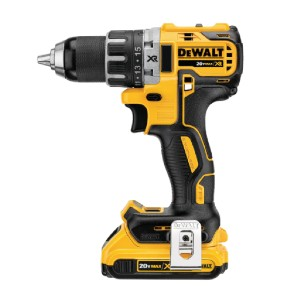 DEWALT DCD791D2 - Best Drill Cordless: Compact, Lightweight and Design Fits into Tight Areas