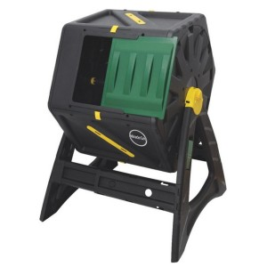 DF Omer USA, Inc. Miracle-Gro Composter C1105MG - Best Outdoor Compost Bins: Stylish tumbling composter