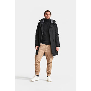 DIDRIKSONS KENNY WINTER PARKA - Best Raincoats for College Students: Multiple Inner Pockets