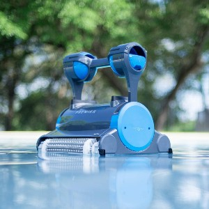 DOLPHIN Premier Robotic Pool Cleaner  - Best Automatic Pool Cleaner Inground: Great for Large Debris