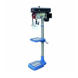 Baileigh DP-0625E - Best Drill Press for Woodworking: Rigid Cast Iron Base and Table