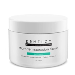 DRMTLGY Microdermabrasion Facial Scrub and Face Exfoliator - Best Face Scrub for Oily Skin: Improving the skin tone scrub