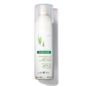 Klorane DRY SHAMPOO WITH OAT MILK - Best Dry Shampoo for Colored Hair: Gently Cleans Hair in Minutes
