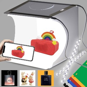 DUCLUS Photo Shooting Tent Kit - Best Lightbox for Miniatures: Improve your photography skills