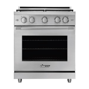 Dacor Professional HGR30PSNG Freestanding Gas Range - Best Ranges for Home Chefs: Automatically reignites burners