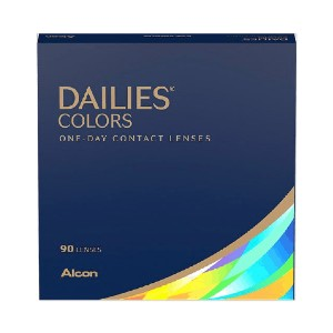 Alcon Dailies Colors  - Best Contact Lenses for Dark Eyes: One-day Contact Lens