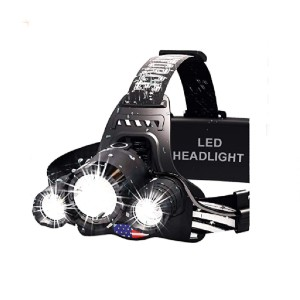 DanForce Headlamp - Best Headlamps for Hunting: Designed in the US