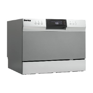 Danby DDW631SDB Countertop Dishwasher - Best Dishwasher for Wine Glasses: Low water consumption