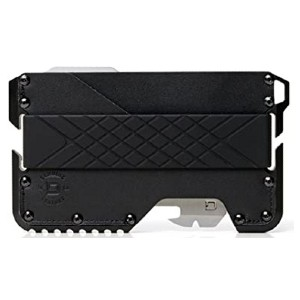 Dango T01 Tactical EDC Wallet  - Best Minimalist Wallet for Men: Equipped with removable multitool