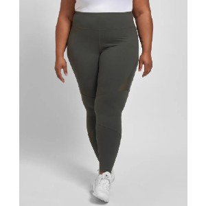 UNIVERSAL STANDARD Danica Mesh Legging - Best Leggings for Plus Size: Stitched with a Hidden Back Pocket