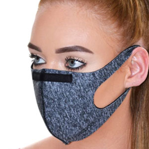 Dannii Matthews Store Unisex Reusable Face Covering with Nose Wire - Best Masks for Teachers: Mask with Nose Wire