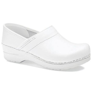 Dansko Professional White Box Leather - Best Kitchen Clogs: Breathable Shoes
