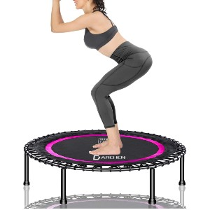 Darchen 450 lbs Mini Trampoline for Adults - Best Trampoline Rebounder: Unmatched stability