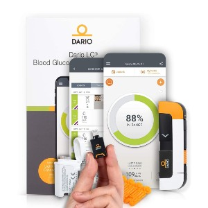 Dario Blood Glucose Monitor Kit - Best Glucometer on the Market: Fir iPhone users