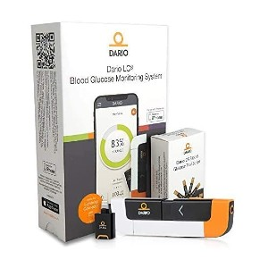 Dario Blood Glucose Monitor Kit Test  - Best Blood Glucose Meter with Bluetooth: Connects directly to the phone