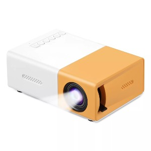 Dartwood HD Mini Projector - Best Projectors for Bedroom: Equipped with Multiple Ports
