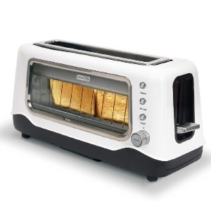 Dash Clear View Toaster - Best Toaster Long Slot: Toaster with Glass Window
