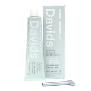Davids Natural Toothpaste - Best Toothpaste without Fluoride: No more wasted toothpaste