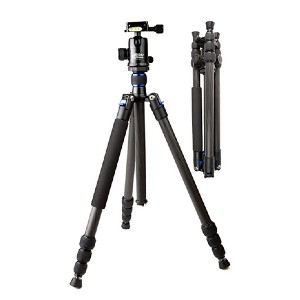 Davis & Sanford TR654C-36 Traverse - Best Tripods for Wildlife Photography: Lighter than aluminum