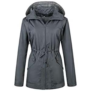 Daxvens Women Waterproof Lightweight Raincoat - Best Raincoats for Iceland: Works great, looks great