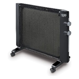 De'Longhi Mica Thermic Panel Heater - Best Space Heater Quiet: Quiet wall mounted heater