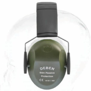 Deben Slim Passive Ear Defenders - Best Shooting Hearing Protection: Manufactured In The United Kingdom