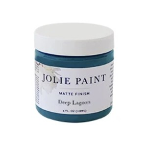 Jolie Paint Deep Lagoon - Best Chalk Paint Colors: Water-Based, Non-Toxic, and Quick-Drying