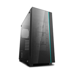 DeepCool MATREXX 55 V3 - Best PC Cases for Water Cooling: Full-Size Tempered Glass Side-Panel