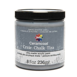 Delta Ceramcoat Chalk - Best Chalk Paint for Crafts: Easy Clean Up with Soap and Water
