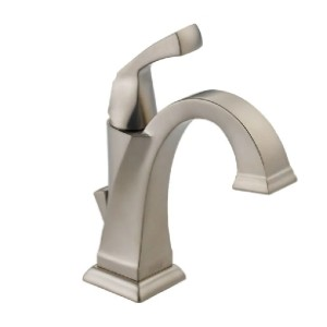 Delta Faucet 551-SP-DST - Best Bathroom Faucets for Hard Water: All-Brass Faucet Construction