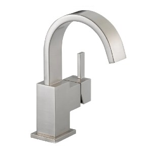 Delta Faucet 553LF-SS - Best Sink Faucets: Single Handle Operation