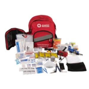American Red Cross Deluxe 3-Day Emergency Preparedness Kit - Best Emergency Preparedness Kits: Multiple Pouches and Removable Organizer