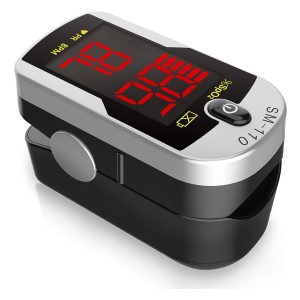 Santamedical Deluxe SM-110 - Best Pulse Oximeter for Home Use: Accurate, Reliable, and Quick Reading