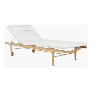 Design Within Reach Finn Chaise - Best Outdoor Chaise Lounge: Simple Lounge Chair with Adjustable Recline