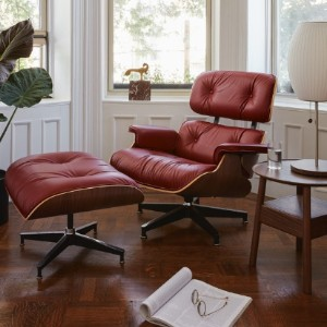 Herman Miller Eames Lounge Chair and Ottoman - Best Lounge Chairs for Reading: Modern Lounge