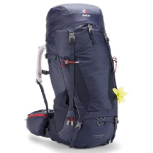 Deuter Futura Vario 45 + 10 SL Pack - Best Waterproof Backpack for Hiking: Expandable Collar On the Main Compartment