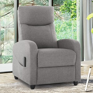 Lark Manor Deven  - Best Recliners for Small Spaces: Easy to Assemble According to the Instruction