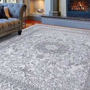 Diagona Designs Traditional Medallion 8X10 Area Rug - Best Rug for Queen Size Bed: Great for large bedroom