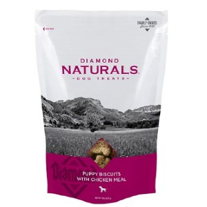 Diamond Naturals Puppy Biscuits with Chicken Meal Dog Treats - Best Dog Treats for Puppies: High Quality Ingredients