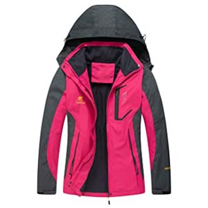 Diamond Candy Hooded Waterproof Jacket - Best Raincoats with a Suit: Sporty and adventurous