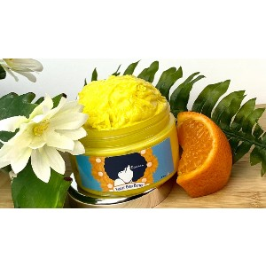 Diavian Naturals Biscuit Body Butter - Best Body Butters for Black Skin: Citrusy Scent Butter
