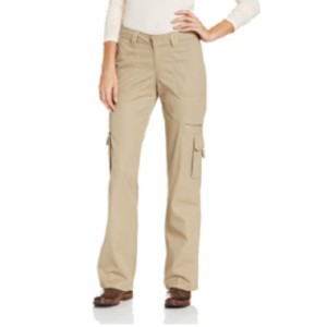 Dickies Women's Relaxed Fit Straight Leg Cargo Pant - Best Cargo Pants for Women: Best for Active Outdoor Activities