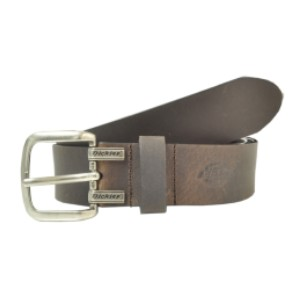 Dickies Cut Edge Logo Leather Belt - Best Belt for Fat Guys: Leather Belt