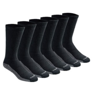 Dickies Dri-tech Moisture Control Crew Socks  - Best Socks for Men: Arch Compression Support and Stability