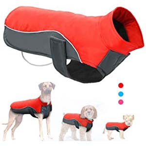 Didog Reflective Dog Winter Coat - Best Raincoats for Big Dogs: Last longer with spacious design