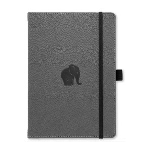 Dingbats  D5023GY Wildlife Medium A5+ Hardcover Notebook - Best Notebooks for College: Multipurpose Journal